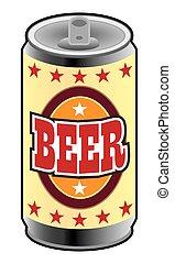 罐頭, 啤酒
