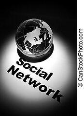 网絡, 社會