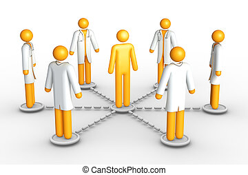 网络, 健康护理