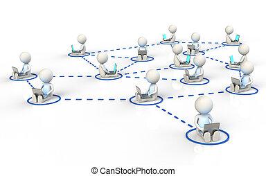 网络, 社会