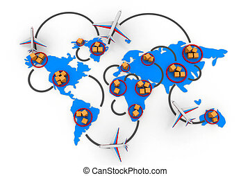网络, 贸易