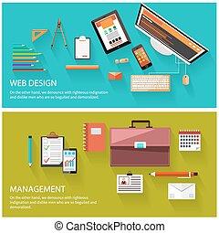网設計, 概念, 管理