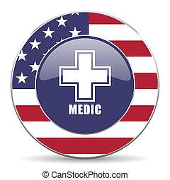 网, 美國, 軍醫, 輪, 背景, 美國人, 設計, 網際網路, 白色, 陰影, 圖象
