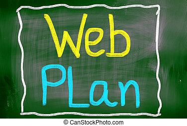 网, 计划, 概念