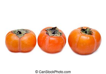 置かれた, 柿, 3, 横列