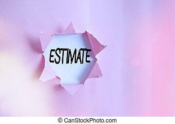 置かれた, estimate., クラシック, テーブル, テキスト, 計算しなさい, 執筆, 概念, およそ, ∥...