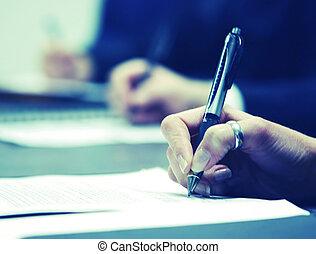 署名の契約