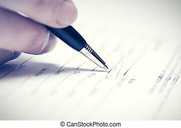 署名, 女性ビジネス, 契約