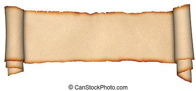 羊皮紙, スクロール, 中世