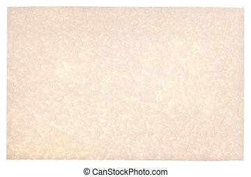 羊皮紙, 背景
