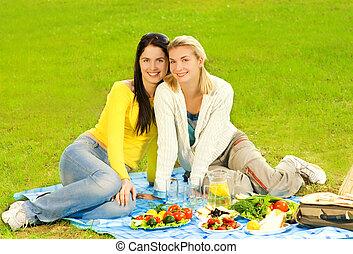 美しい少女たち, ピクニック, 2