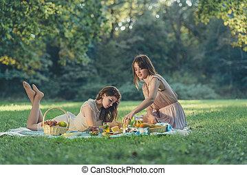 美しい少女たち, 休暇