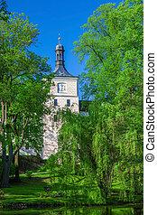 美しい, チェコ, 城, 共和国, breznice