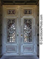 美しい, ドア, 中に, 代表団教会, ∥において∥, スタンフォード大学, 中に, カリフォルニア