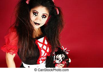 美しい, フィリピン人, 人形