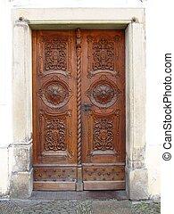 美しい, 古い, ドア