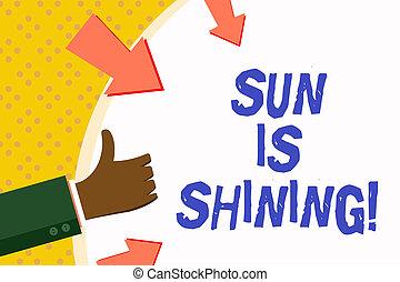 美しい, 夏, 概念, 単語, ビジネス, 景色。, テキスト, 日光, 日々, shining., 執筆, 暑い, 太陽, 自然, 楽しむ