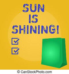 美しい, 夏, 自然, ビジネス, 景色。, 太陽, 提示, 日光, 日々, shining., 執筆, メモ, 暑い, 写真, showcasing, 楽しむ