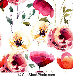 美しい, 夏, 花