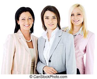 美しい, 女性実業家, チーム