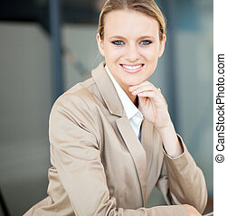 美しい, 女性実業家, 若い, コーカサス人