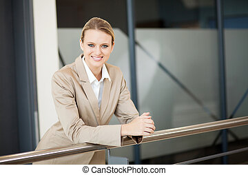 美しい, 女性実業家, 若い