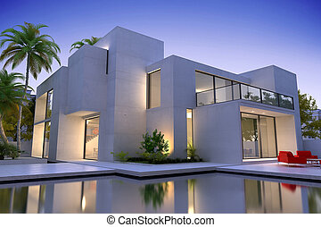 美しい, 家, 現代, 贅沢