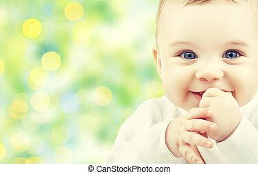 美しい, 幸せ, 赤ん坊