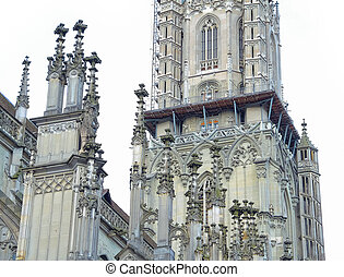 美しい, 建物, 中心, 都市, 歴史的, 建築である