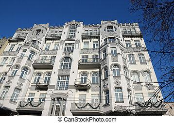 美しい, 建物, kiev