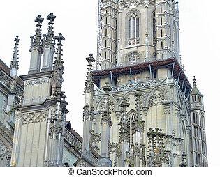 美しい, 建築である, 歴史建造物, 都市で, 中心