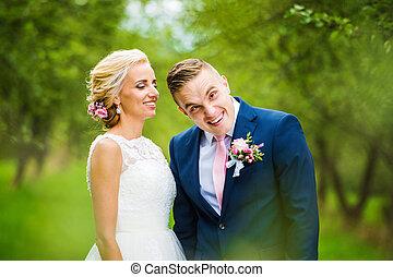 美しい, 恋人, 結婚式