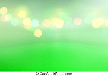 美しい, 抽象的, 緑の背景