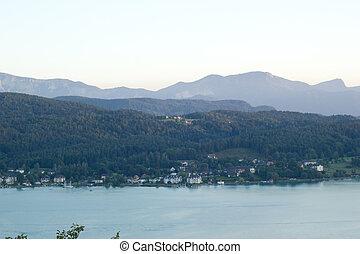 美しい, 湖, 光景
