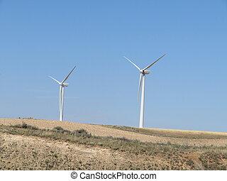 美しい, 準備ができた, 空気, 改宗者, タービン, 風エネルギー