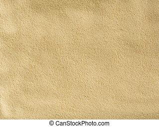 美しい, 砂, 手ざわり