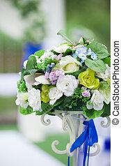美しい, 結婚式, 花の 整理