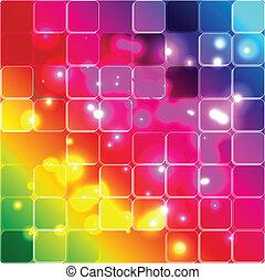 美しい, 虹, 色, イラスト, 形態, ベクトル