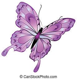 美しい, 蝶
