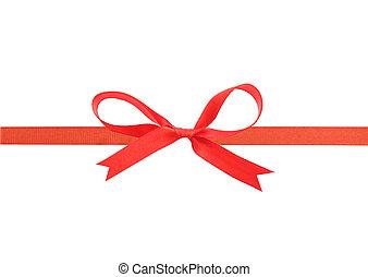 美しい, 赤いリボン, 弓