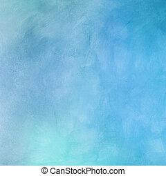美しい, 青い背景, ライト