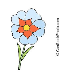 美しい, flower.