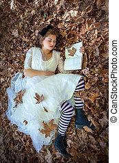 美しさ, 女性の 読書, 弛緩