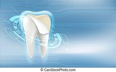 美しさ, 歯医者の, veneers., 歯, treatment., 白くなる