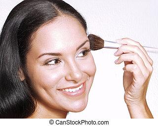 美しさ, makeup.