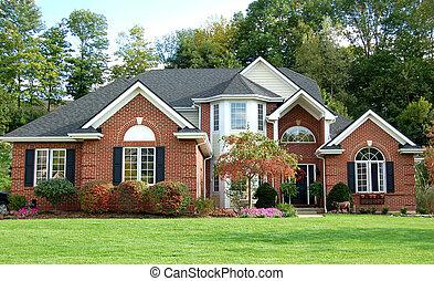 美丽, 房子