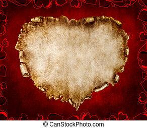 美丽, 葡萄收获期, 仿效某派风格, 卡片, valentine