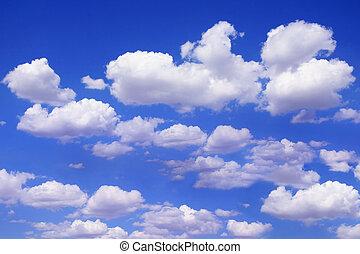 美丽, 蓝的天空