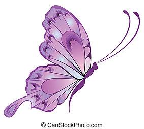 美丽, 蝴蝶