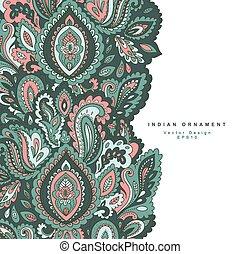 美丽, c, ornament., 问候, invitation., 独立经营电影院, 婚礼, 植物群